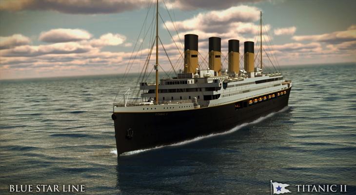 'Titanic 2', un peculiar y caro homenaje