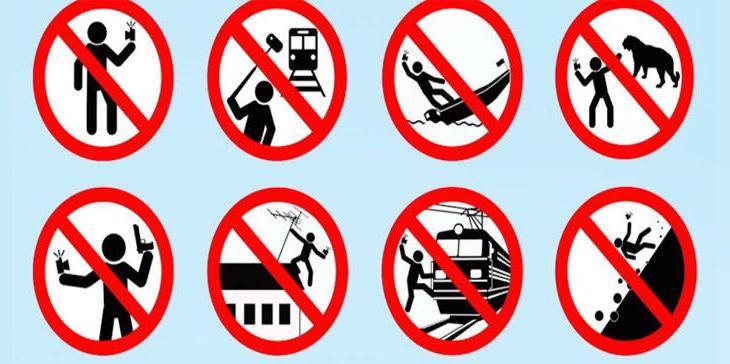 Algunas de las señales de prevención rusas, totalmente verdaderas