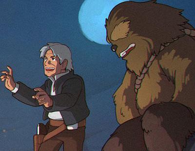 Un ilustrador imagina Star Wars como si fuera de Studio Ghibli