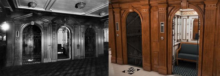 Los ascensores de 1912 vs los de 2018