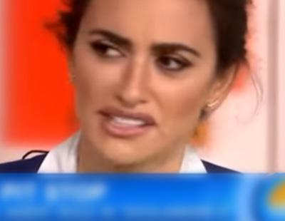 Una presentadora de TV enfada a Penélope Cruz por sus no-feos pies