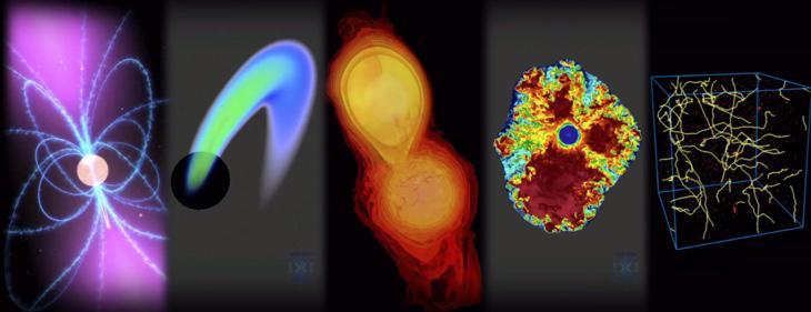De momento, lo detectable con ondas gravitatorias es muy violento