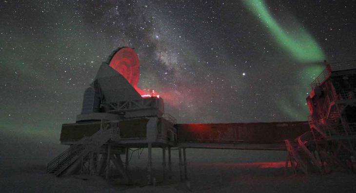 El telescopio del Polo Sur