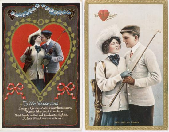 La primera tarjeta de Hallmark de San Valentín (1913)