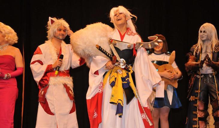 Suplente del concurso de cosplay