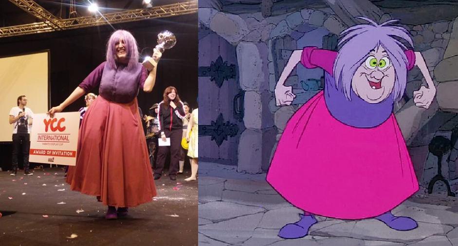 Madam Mim de Disney