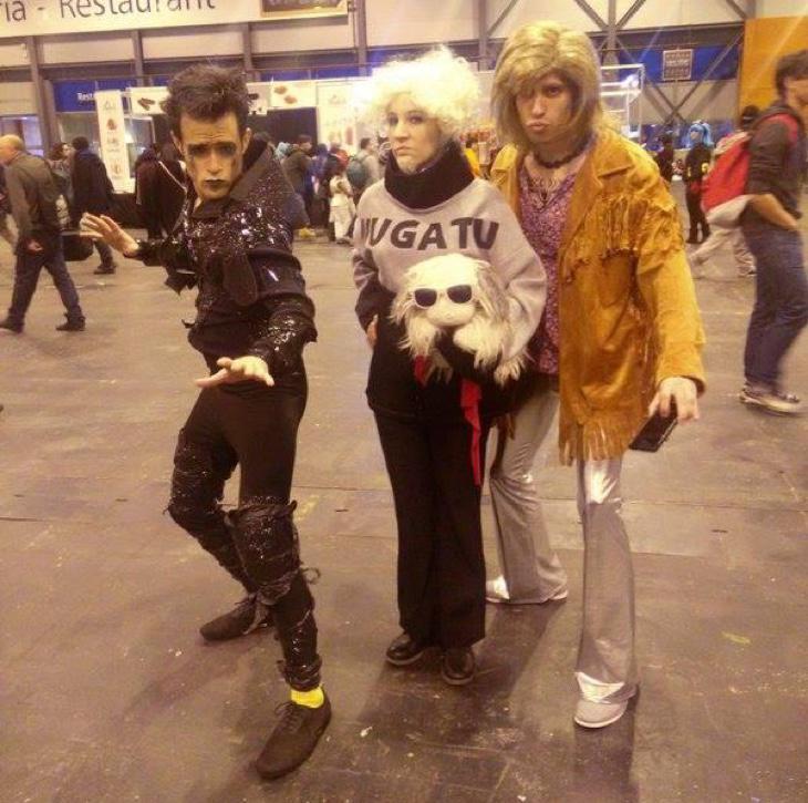 Cosplay grupal de Zoolander