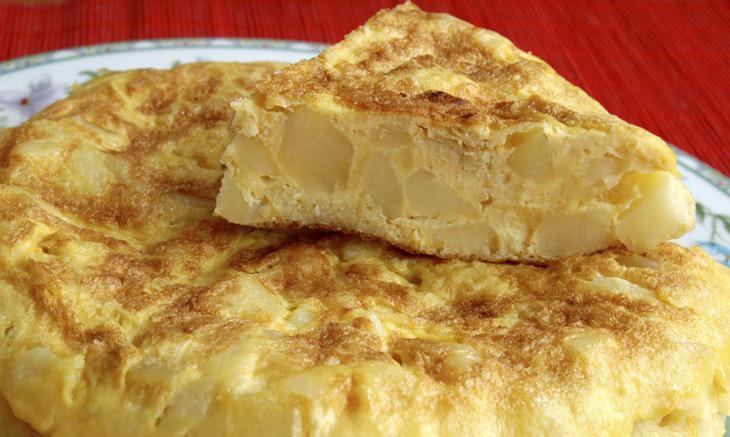 La huevina como atentado terrorista contra la tortilla española