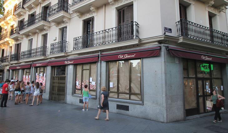 El Café Comercial estuvo abierto durante 128 años