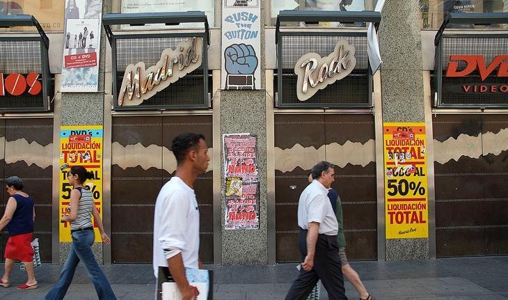 La emblemática Madrid Rock, cerrada