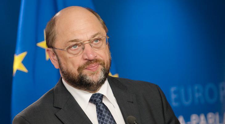 Martin Schluz, presidente del Parlamento Europeo