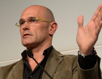 Raül Romeva se presenta en Europa como Ministro de Exteriores catalán para pedir apoyo a la independencia
