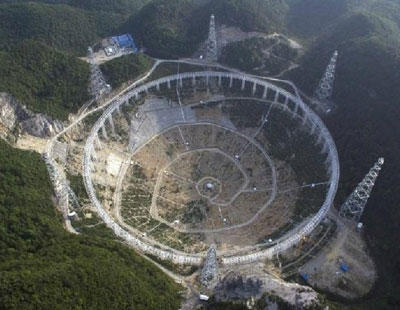 China obliga a realojar a 9.100 personas para buscar extraterrestres