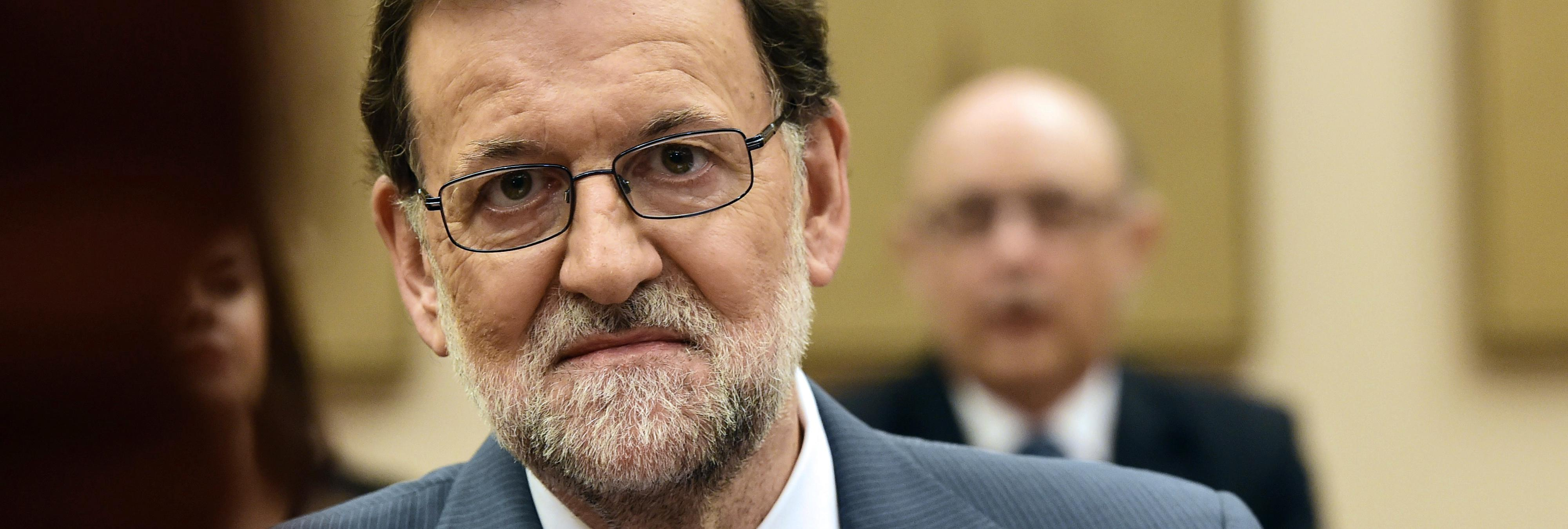 Rajoy es nombrado persona 'non grata' en su ciudad de origen