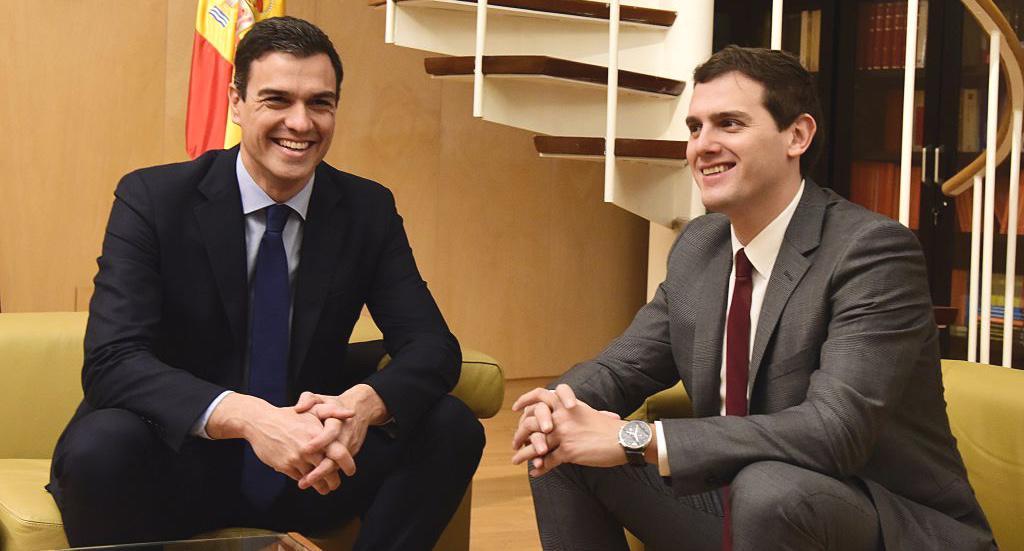 PSOE y Ciudadanos, en el mismo barco