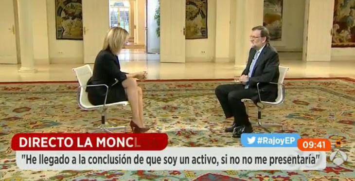 Rajoy en 'Espejo Público'