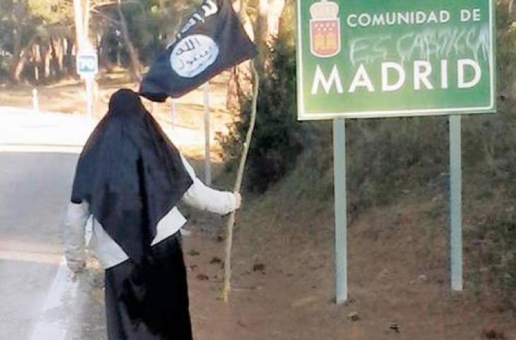Un miembro de Daesh en la frontera de Madrid, ya arrestado