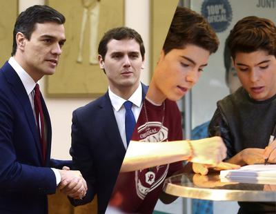 ¿Han firmado el pacto de gobierno Sánchez y Rivera o los Gemeliers?