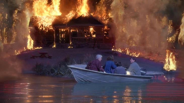 El momento en el que las llamas arrasen con todo el pueblo, será el momento en el que te creerán