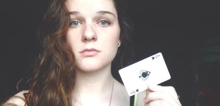 Selfie por el día de la visibilización asexual