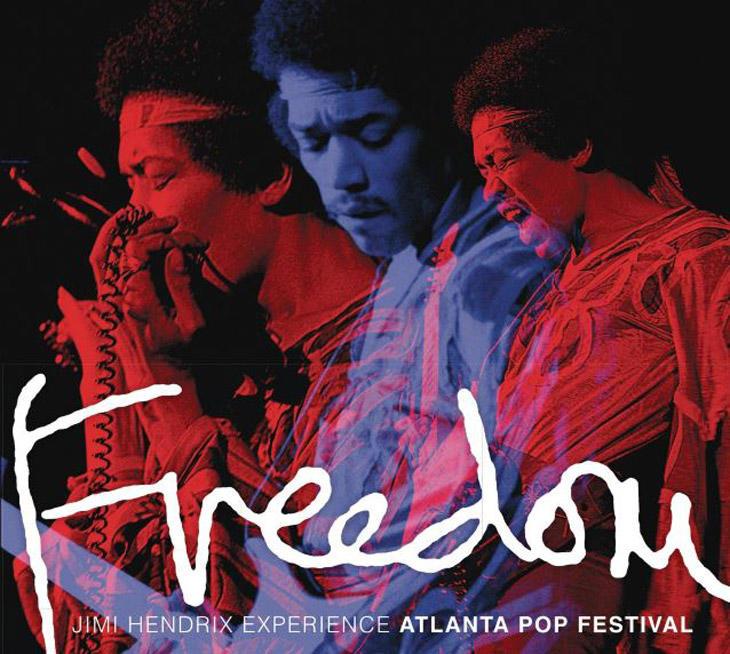 El último disco de Hendrix rescata su actuación en el Atlanta Pop Festival