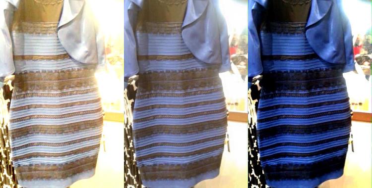 El vestido azul y negro que dio la vuelta a la red