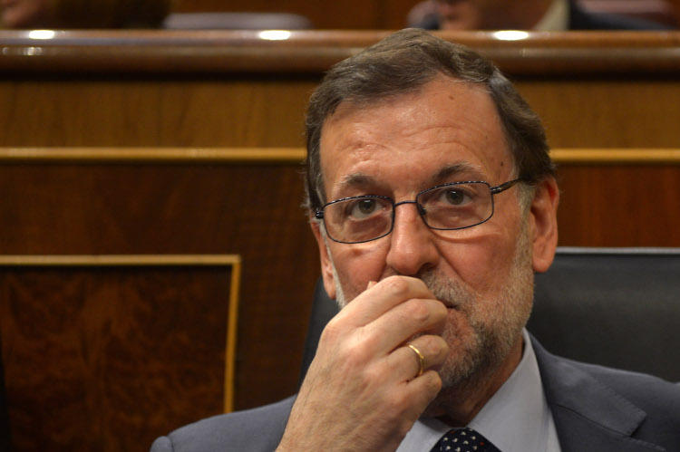 Rajoy llevó pipas al show