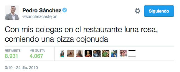 'Ser malos' tampoco aparece al final del discurso de Pedro Sánchez, pero se planteó