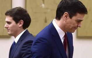 El pacto PSOE+Ciudadanos, un acuerdo condenado al fracaso