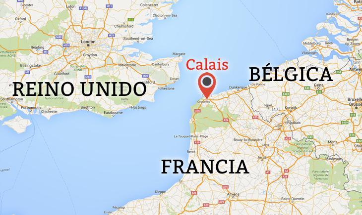 Calais, enclave fronterizo