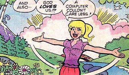 Un ejemplo de los cómics cristianos de Archie
