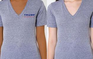 ¿Ha hecho Photoshop Donald Trump para convertir en negra a esta modelo?