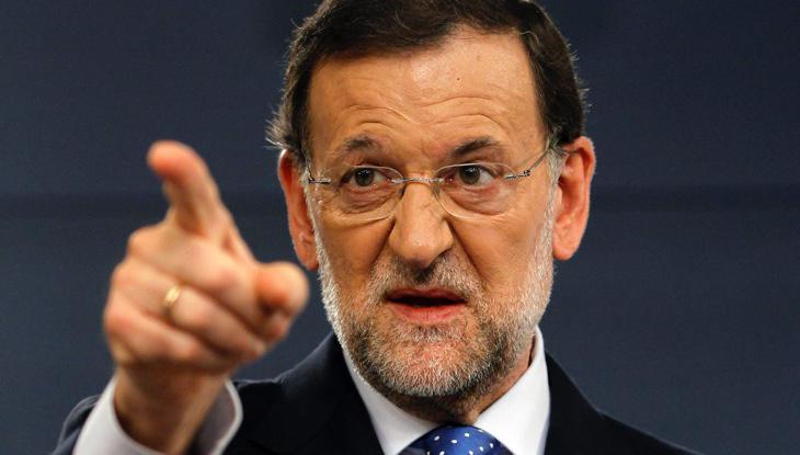 Rajoy llama 'corrupto' a Sánchez