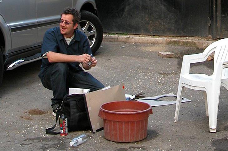 Robin Gunningham, el presunto Banksy