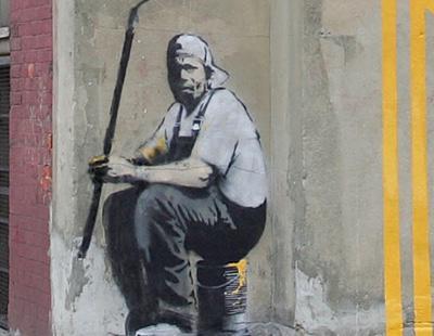 La identidad de Banksy podría haber sido descubierta con un sistema de rastreo de terroristas