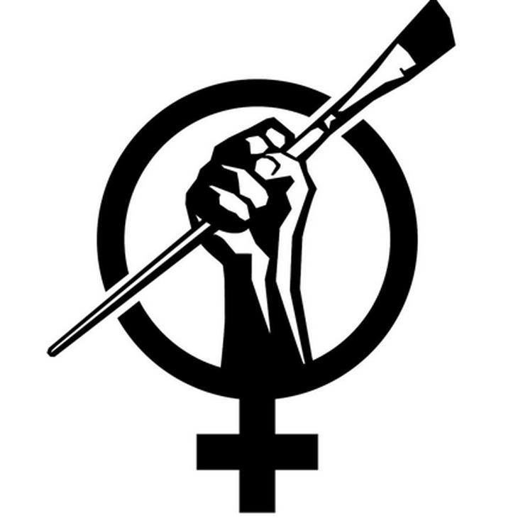 Logo de la iniciativa Art + Feminism