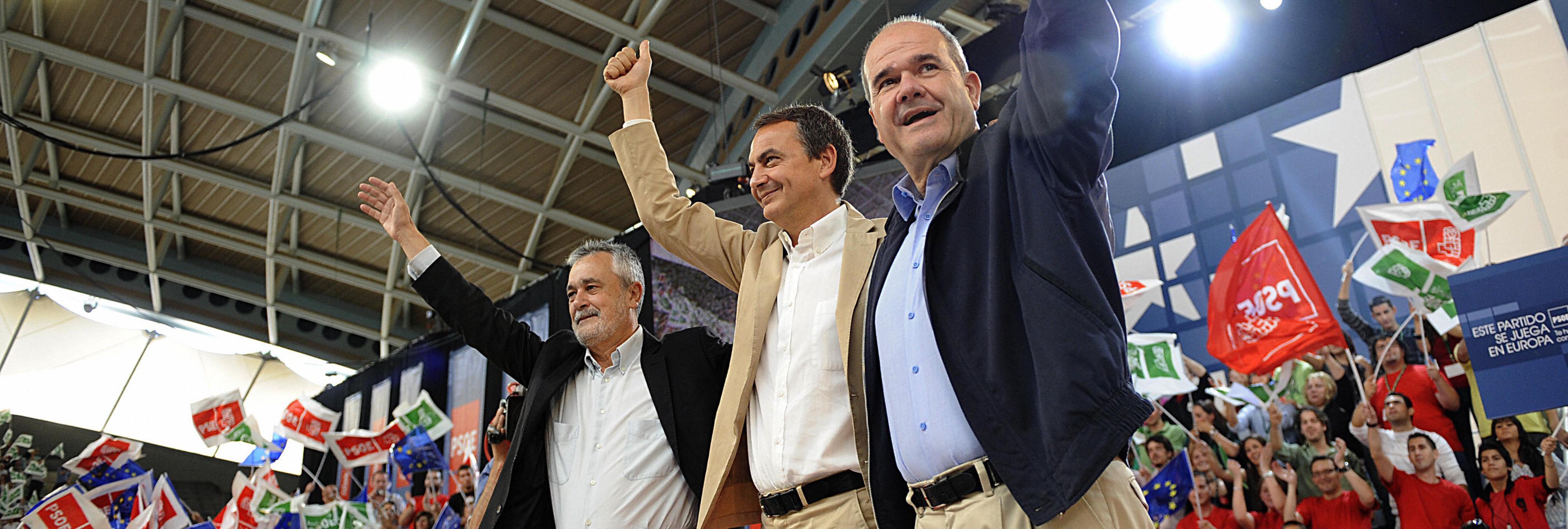 Los expresidentes Chaves y Griñán, citados a declarar por los ERE de Andalucía