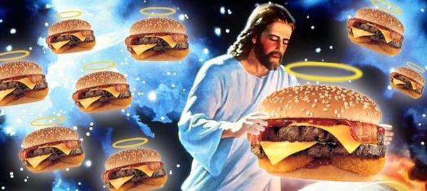 El milagro de la multiplicación de las hamburguesas