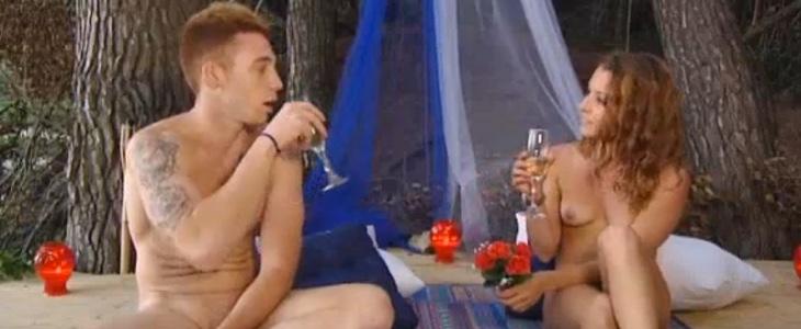Luis y Estela, en 'Adán y Eva'