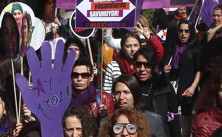 El 39% de las mujeres de Turquía han sufrido violencia física en algún momento de sus vidas