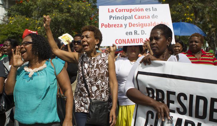 Mujeres dominicanas exigen responsabilidades políticas en la situación de desigualdad