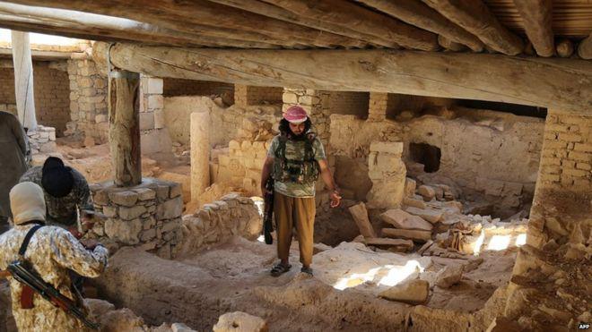 ISIS en el Monasterio Mar Elián