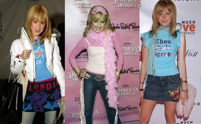 Ashley Tisdale, icono de los 2000