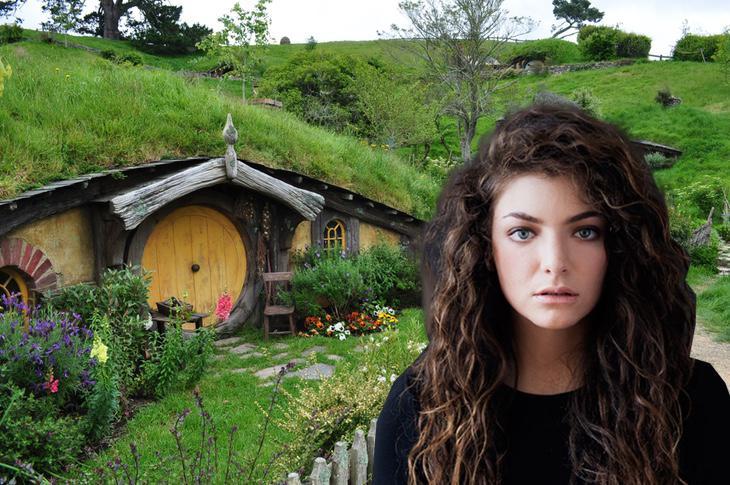 Pero Lorde no salió en 'El Señor de los Anillos'