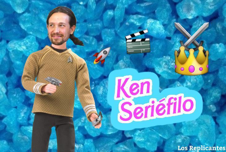 Ken Seriéfilo versión fan de 'Juego de Tronos'
