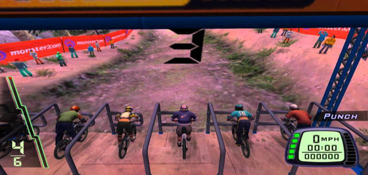 Los juegos de bicis... claro, divertidísimos