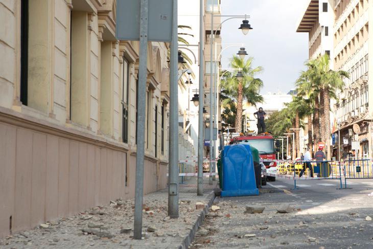 Efectos del terremoto del 25 de enero en Melilla