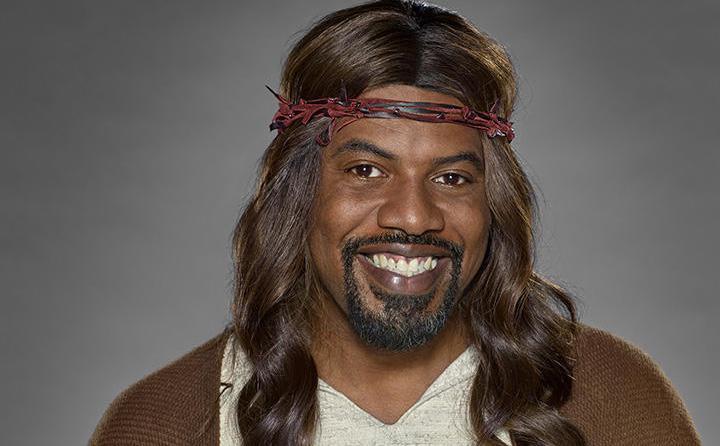 Porque Jesucristo era rubio y con ojos azules, ¿verdad?