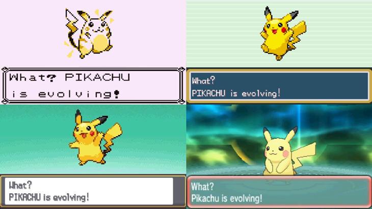 Pikachu a lo largo de estos 20 años ha mejorado su aspecto gráfico