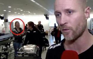 Una mujer desaparece en directo en la televisión danesa